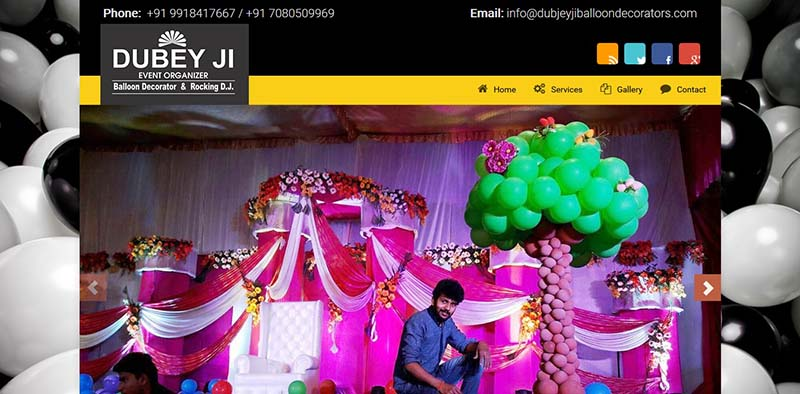 Client | Dubeyji Balloon Decorators